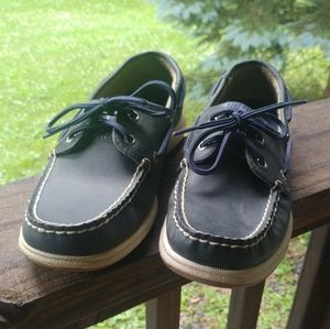 Sperry Top Sider Navy Blue Boat Shoes